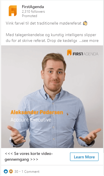 FirstAgenda